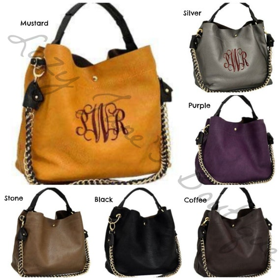 Monogram Handbag (please list monogram and font in comment box)