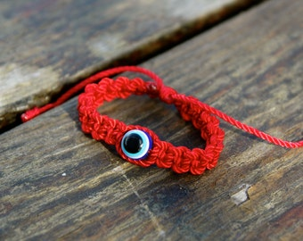 Evil Eye Bracelet,Red Bracelet,blue evil eye bracelet,baby evil eye bracelet,mal de ojo, red string bracelet,pulsera roja,baby bracelet