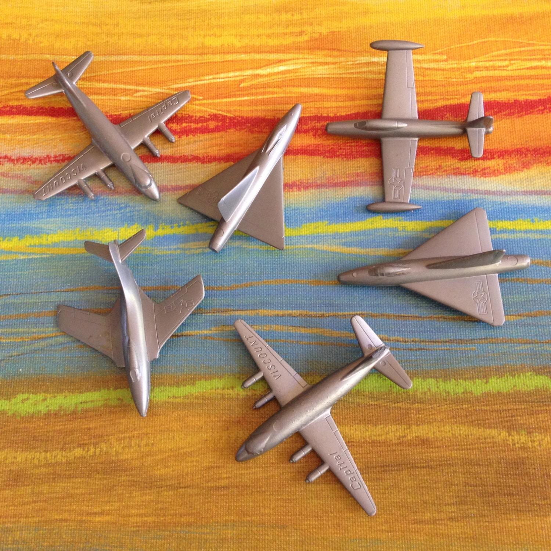 Vintage Plastic Airplane 52