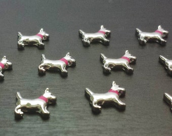 Girl Dog Floating Charm for Floating Lockets-Gift Idea