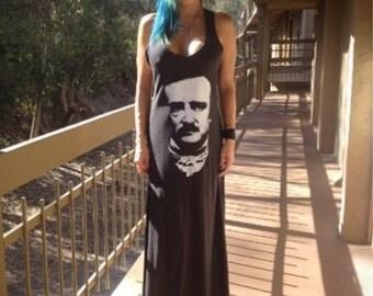 Edgar Allan Poe Maxi Dress