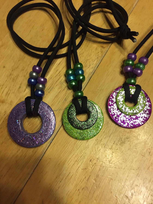 washer necklace by kraftycc on etsy