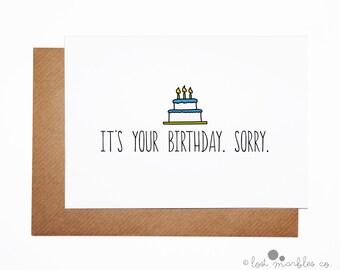 Joke Zimmer Frame Birthday Card Happy Birthday by ...