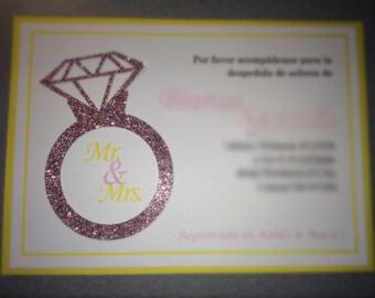 Ring invitation