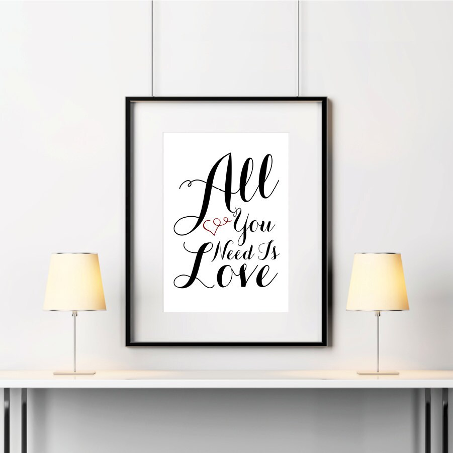 these typographic wall art - photo #19