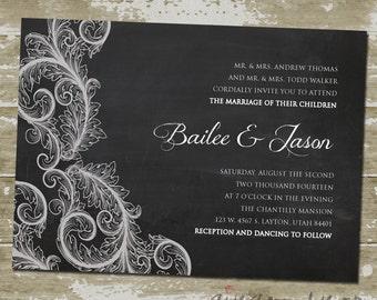 Bailee Wedding Invitation