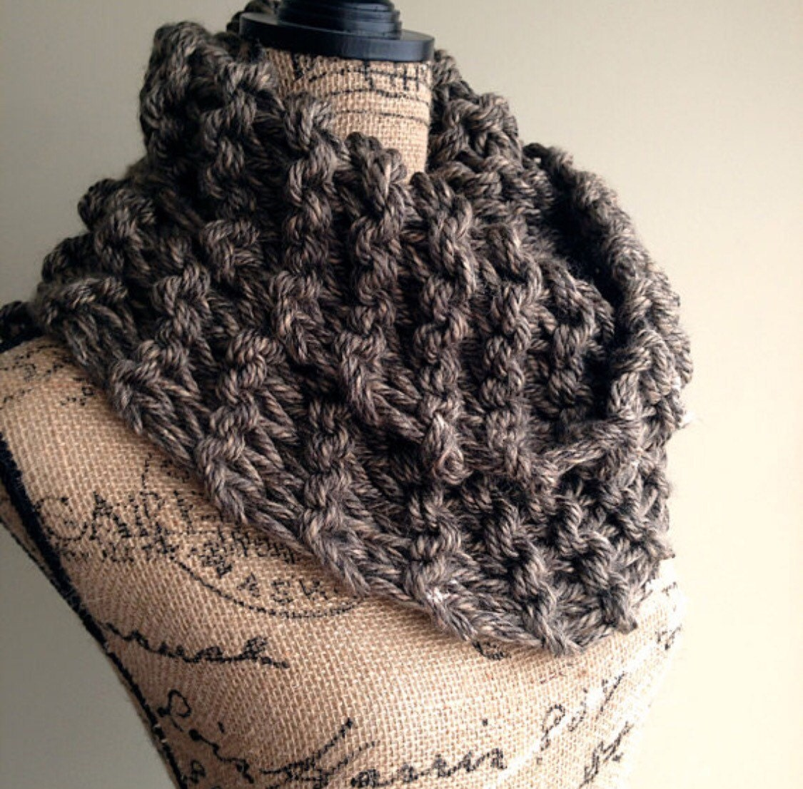 Outlander Inspired Cowl chunky knit cowl womens by DesignByEJ