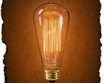 Reproduction Antique Light Bulb 40 watts