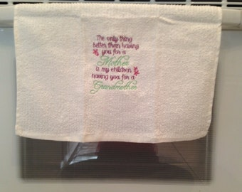 Grandmother Towel