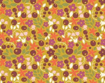 ORGANIC Bitty Blooms, Meadow Collection by Monaluna Organic Fabrics