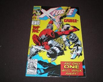 X-Force 15, 1991, Cable, Deadpool, Marvel Comics, B02