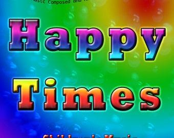 CHILDREN'S MUSIC CD - Fun Music, Happy Music, Kids Music, Children's Songs
