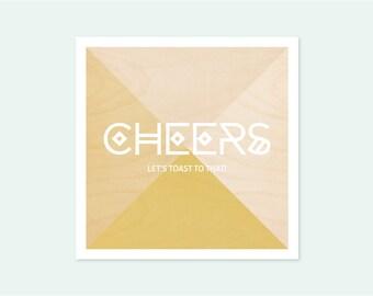 Card CHEERS