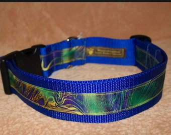"Dog Collar  - Webbed 1 1/2"" x 16"" - 26"""