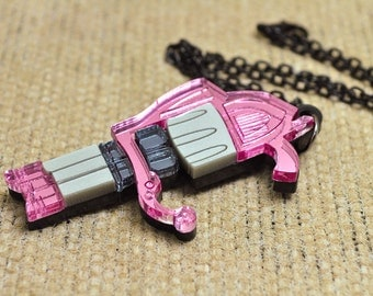 Jinx Pow Pow Machine Gun Cosplay Necklace