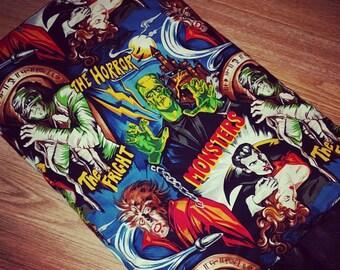 Monsters baby blanket. Hollywood Monsters Blanket.