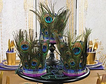Popular Items For Feather Centerpiece On Etsy