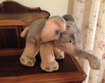 Antique Vintage Steiff Toy Elephant