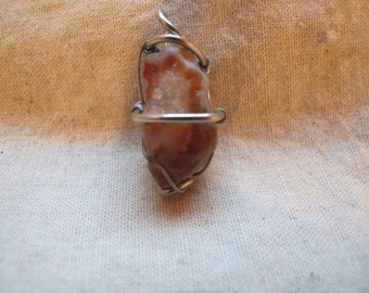 wire wrapped minnesota agate