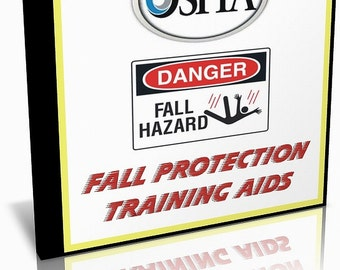 OSHA Fall Protection Training Aids, Videos and Guide on CD