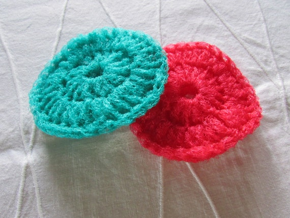 how to make tulle scrubbies