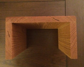 couch arm wrap tray table made of wood