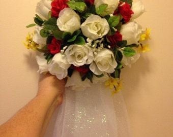 Bridal Shower Front Door Bouquet Decoration customize colors