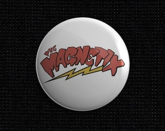 Magnetix psychobilly pin back button