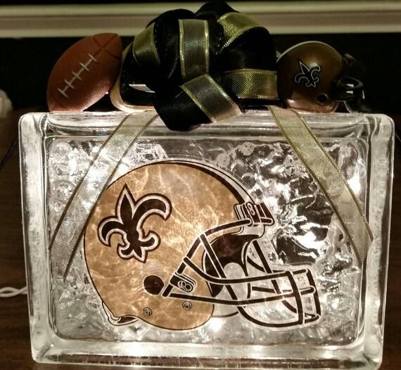 New Orleans Saints Helmet Night Light