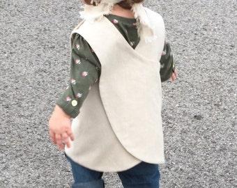 Childrens Pinafore Apron Dress aka Mini Pinny