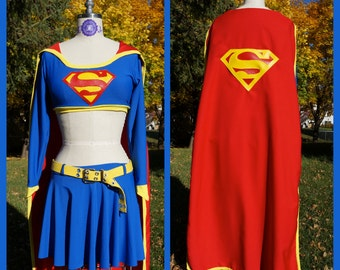 Supergirl Costume Custom Made