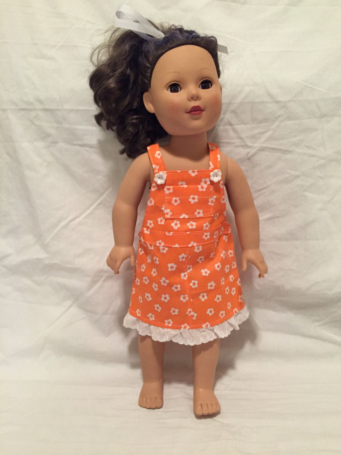 Your little girl is a living doll, and you can reflect her unique aspects and individuality with her own doll from