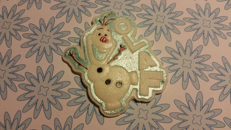 Edible Cake Decorations Frozen : Edible Cake/Cupcake Decorations 6 OLAF FROZEN Fondant