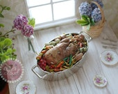Miniature Turkey Dinner (Magnet! Optional)