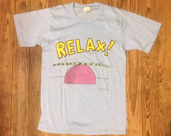 Vintage 1980s Hallmark Cards Co. T Shirt sz 34 in DeadStock Condition