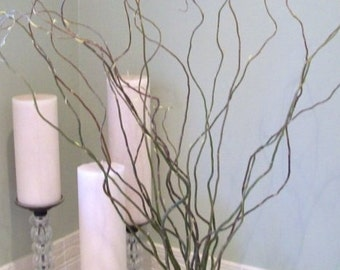 Tree branch vase etsy 12 2 ft curly willow branches diy supplies home decor wedding decorations table junglespirit Choice Image