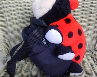 Adorable Child's Lady Bug Backpack!