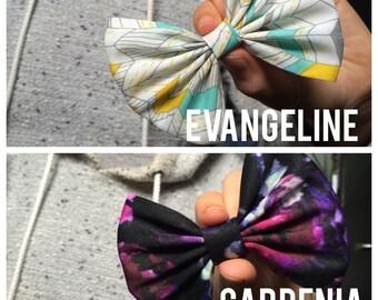 Evangeline or Gardenia bows! Sold seperatly