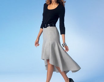 McCall's Sewing Pattern M7054 Misses' Gored Skirts