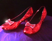 Custom Made Replica Ruby Slippers - Made to Order