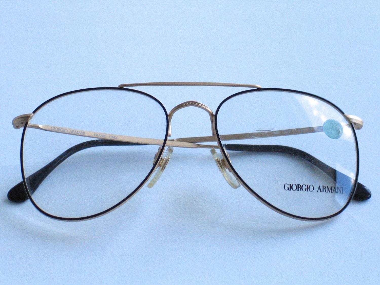 Armani Glasses Frames 2015 : Giorgio Armani unisex vintage eyeglasses frames made in ...
