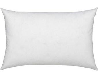 12x16 Cushion 12 x 16 Pillow Cover Insert Lumbar Pillow Polyfill Form Throw Pillow Sham Insert Accent Pillow Decorative Pillow Euro Filler