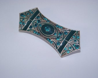 AD7b Art Nouveau style brooch (Abstract)