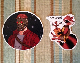 Guardians of the Galaxy sticker set