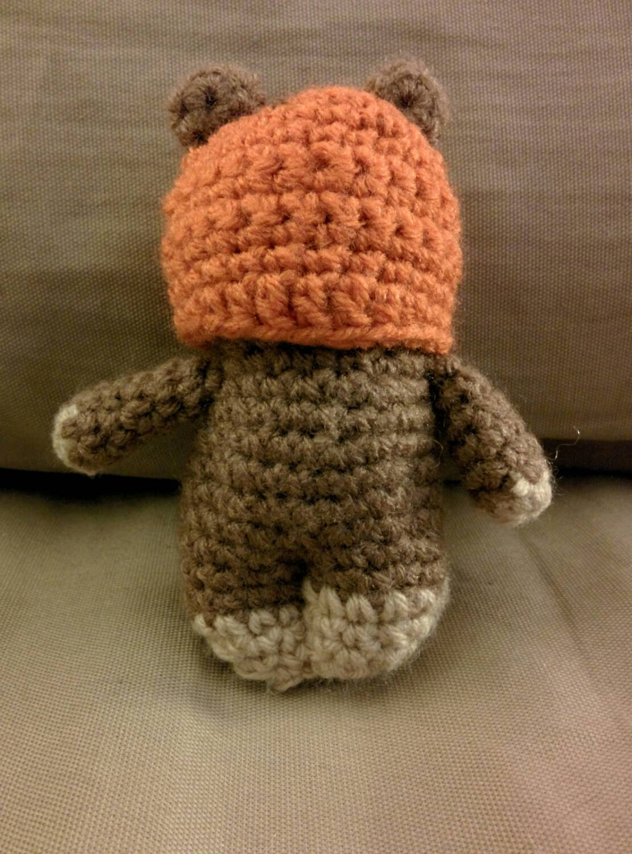 Ewok Crochet Amigurumi : Star Wars Ewok Crocheted Amigurumi by CraftingbyMissy on Etsy