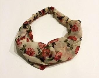 A Floral Headband