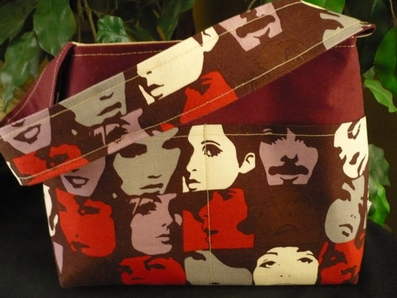 "Alexander Henry ""Faces"" Mini Diaper Bag"