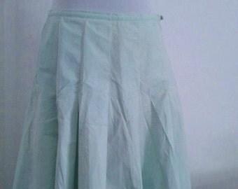 50's style Vila skirt in mint.