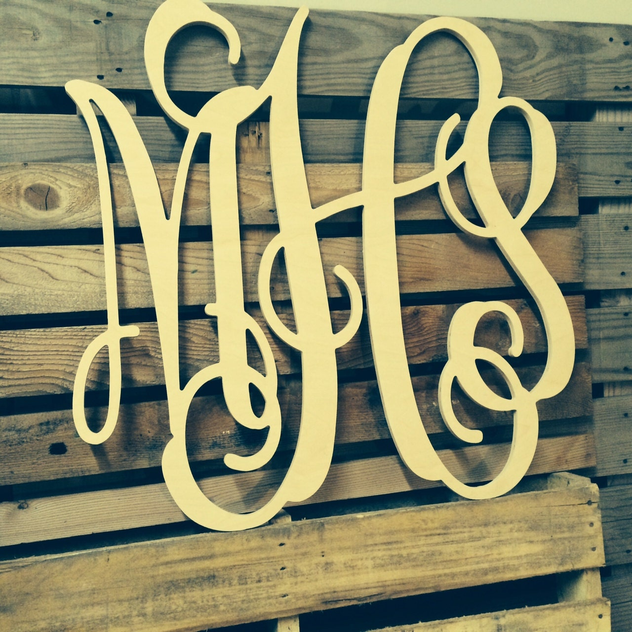 cursive wooden letters wedding guest book zoom