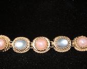 Pastel Reflections- Vintage Sarah Coventry bracelet # 9858